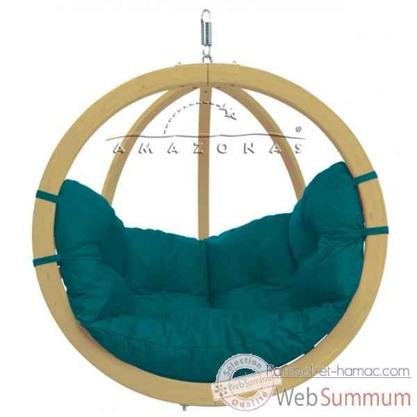 Hamac Amazonas suspendu globo chair green az-2030800