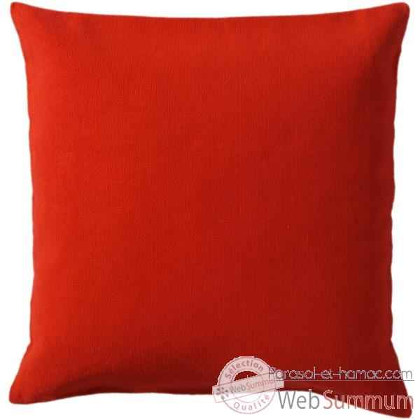 Housse coussin rouge for Housse coussin rouge