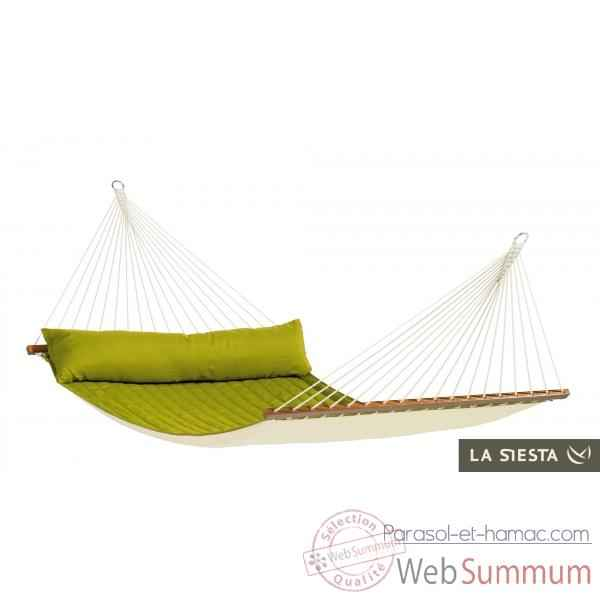 North american style hamac à barres double alabama avocado La Siesta -NQR14-41