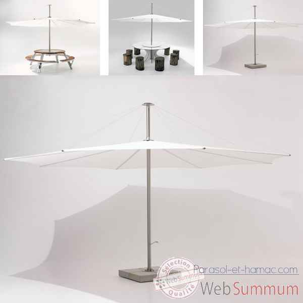 Video Parasol Extremis InUmbra, pour table Gargantua -IUW40