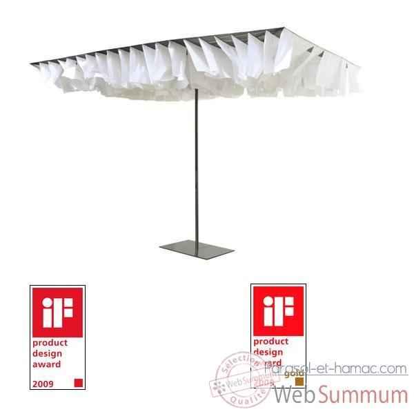 parasol rectangulaire sur parasol et hamac. Black Bedroom Furniture Sets. Home Design Ideas