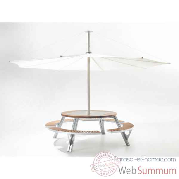 Video Table et parasol Extremis Gargantua, InUmbra -GI_IUW40